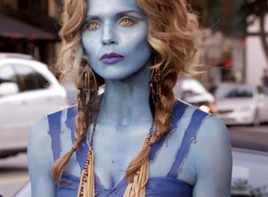 90210: Blue Naomi