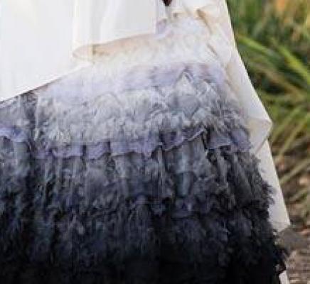 Noir Wedding Dress
