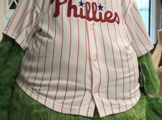 Phillie's Fanatic Halloween Costume, 2017