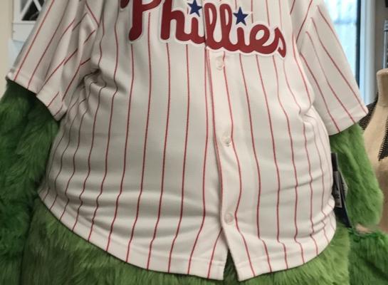 Phillie's Fanatic Halloween Costume, 2017